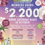 Members Draws October