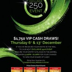 $1,750 VIP Cash Draws