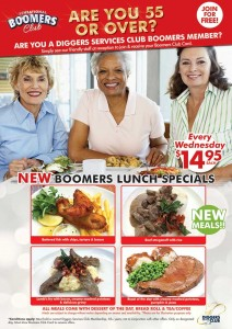 Boomers Meal Deals