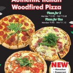 Authentic Italian Woodfired Pizza