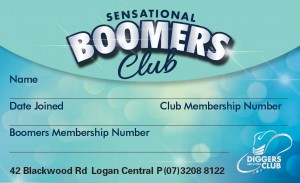 Boomers Club at Diggers Services Club