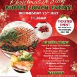 Buffet Xmas Lunch in July