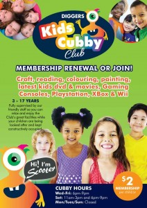 Kids Cubby Club Membership