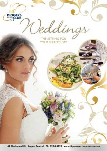 Wedding Package at Diggers Services Club