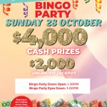 Bingo Party October