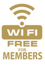 Free Wifi at Diggers Services Club