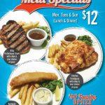 Triple Treats Meal Specials
