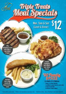 Triple Treats Meal Specials