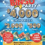 $4000 Bingo Party April
