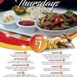 Tijuana Thursdays Dinner Deals