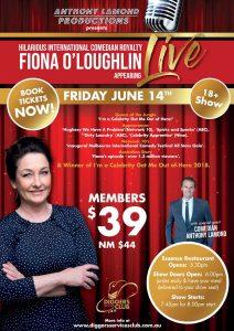 Fiona O'Loughlin Live