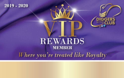 VIP Rewards Member Card