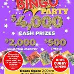 $4,000 Bingo Party