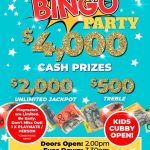 August $4,000 Bingo Party