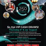 $1,750 VIP Cash Draws