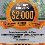 $2,000 Friday Nights Draws