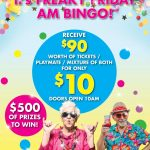 $10 Freaky Friday Bingo at Diggers Services Club