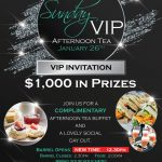 Sunday VIP Afternoon Tea at Diggers Services Club